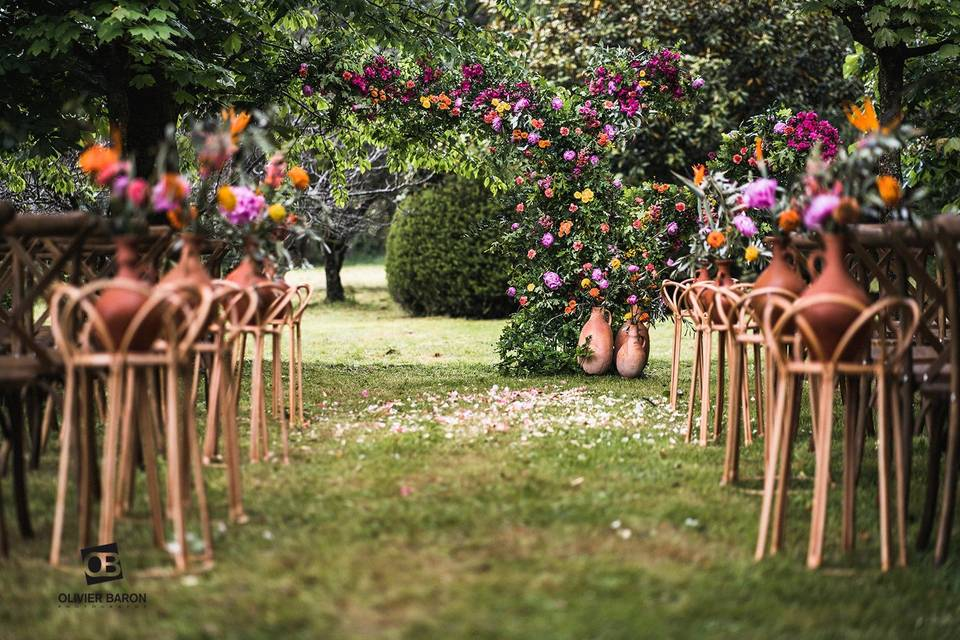 Ceremonie laïque Morbihan