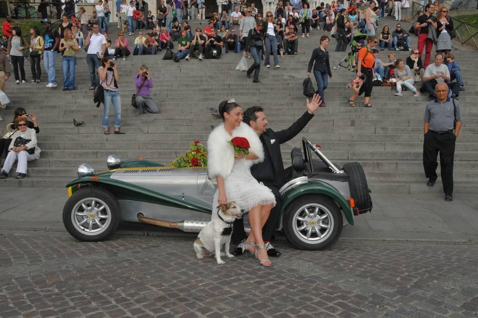 Couple à Paris
