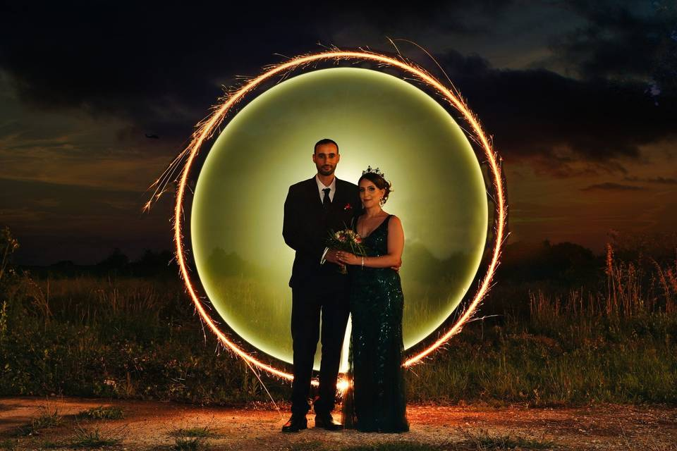 Photo 2 couple - lightpainting