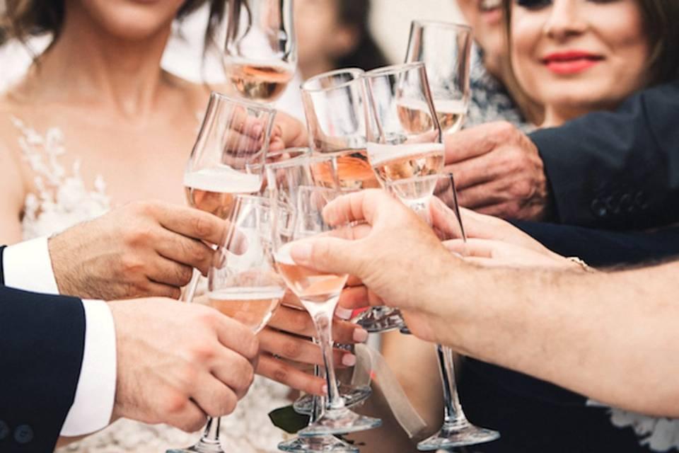 Champagne et festivités