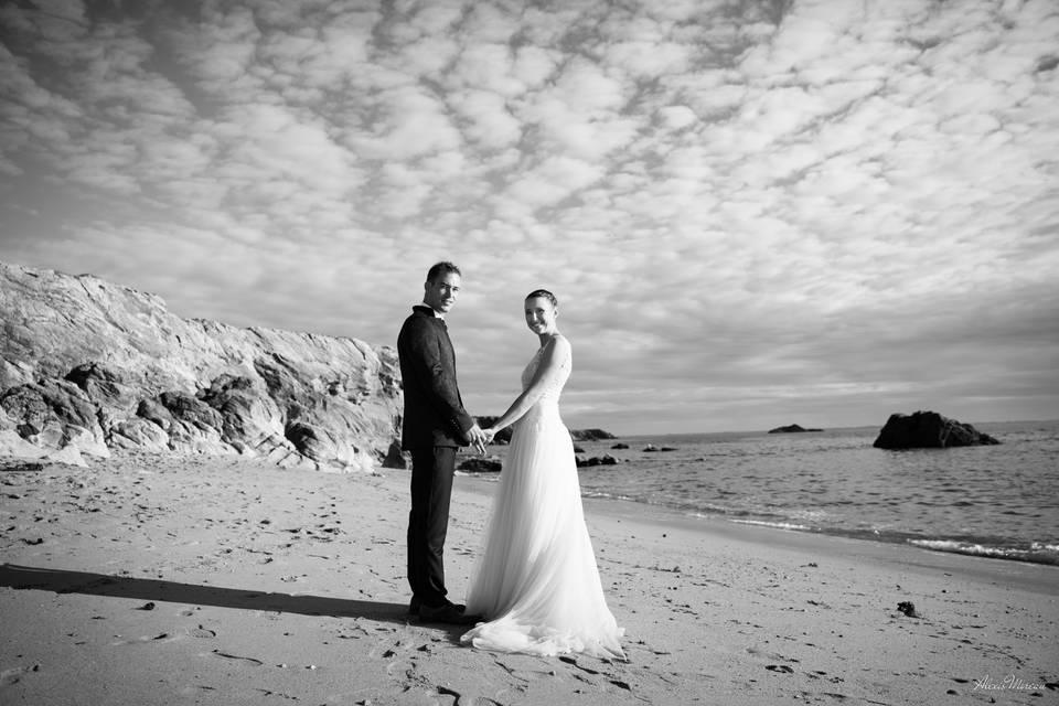 Photo de couple à Quiberon