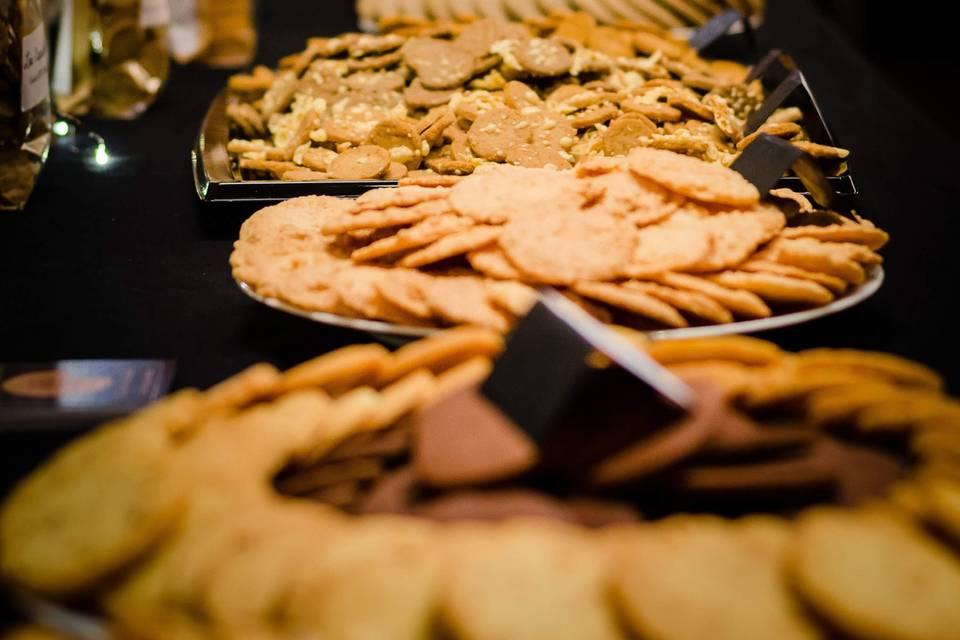 Un jolie buffet de nos biscuit